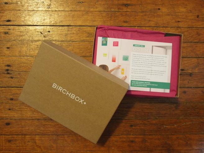 january birchbox 2014