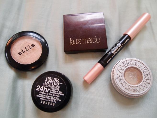 most used eyeshadows