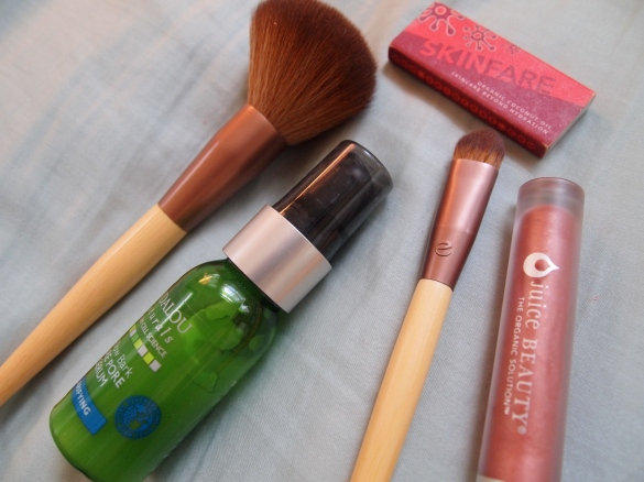 make up, eco tools, natural