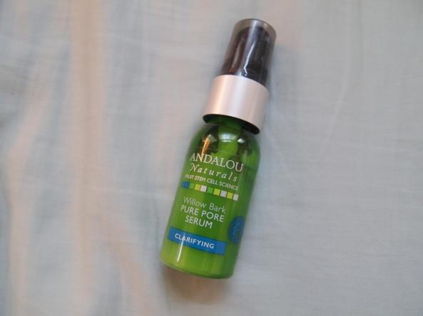 andalou naturals pore pure serum, andalou clarifying