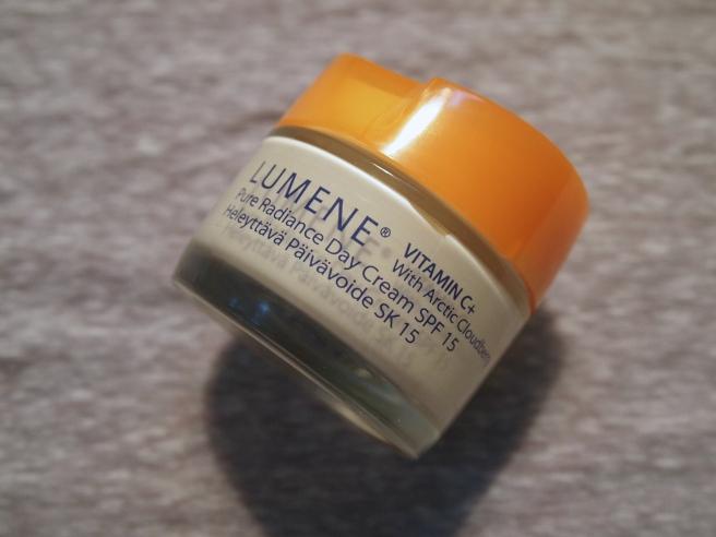 lumene pure radiance day cream