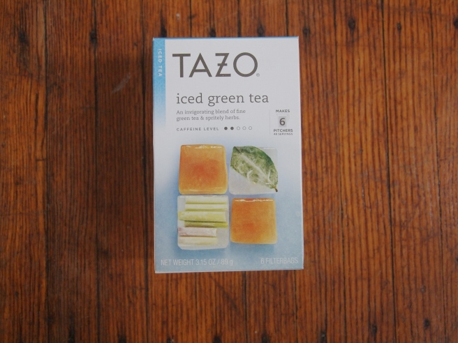 tazo iced green tea