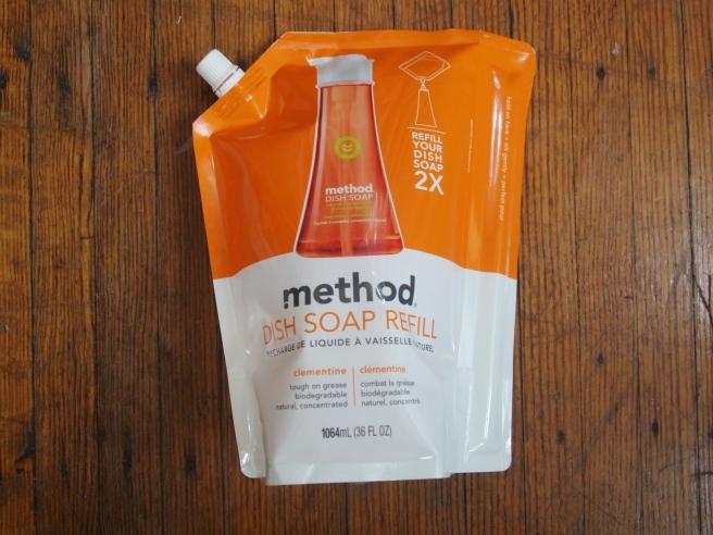 method clementine dish soap