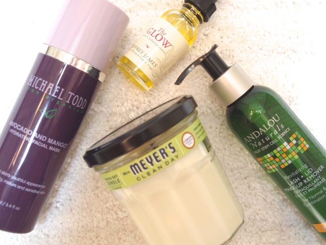 favorite natural beauty items