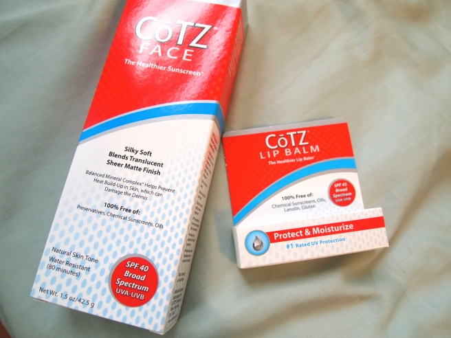 cotz spf review