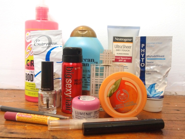 july empties