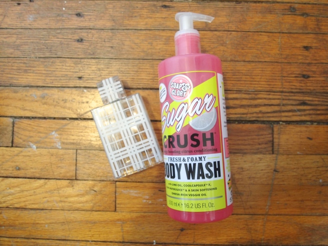 soap and glory body wash