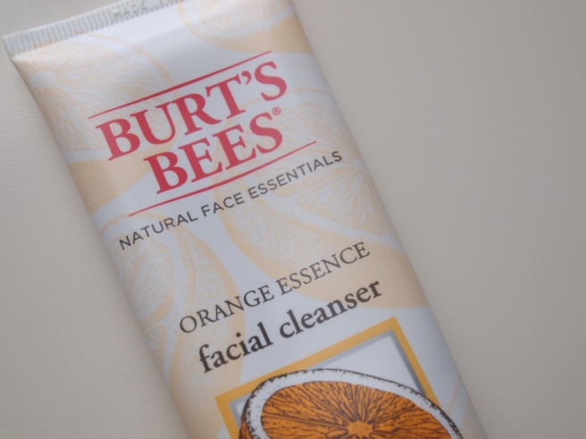 burts bees orange essence facial cleanser