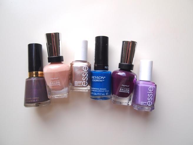 drugstore nail polish