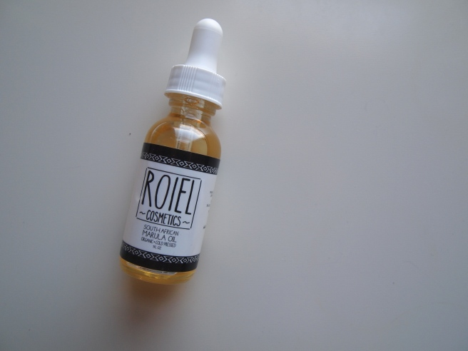 roiel cosmetics marula oil