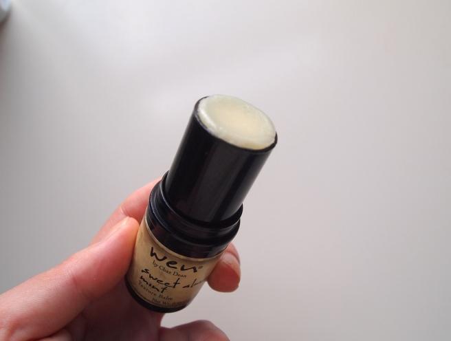 wen sweet almond mint texture balm