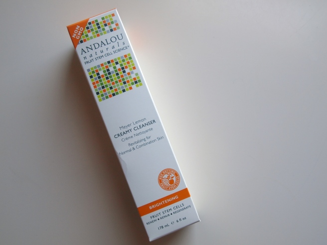andalou naturals creamy cleanser