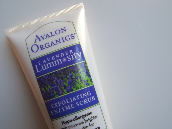 avalon organics lavender luminosity