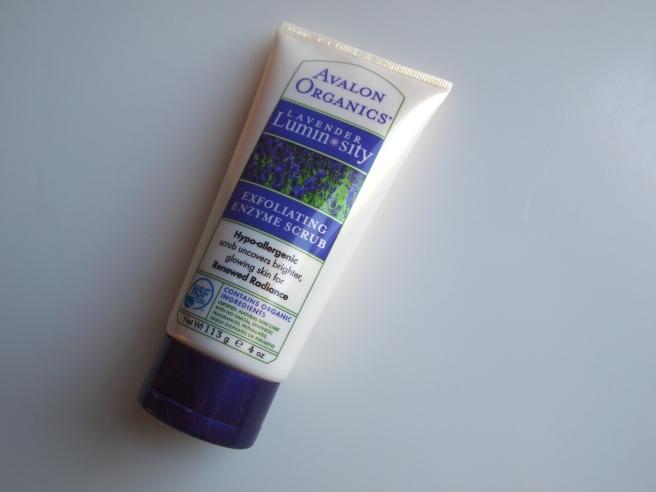 avalon lavender scrub