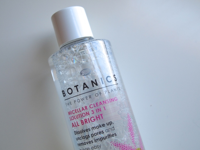 boots botanics 3 in 1 cleansing water