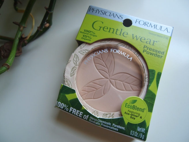 physicians formula gentle wear powder
