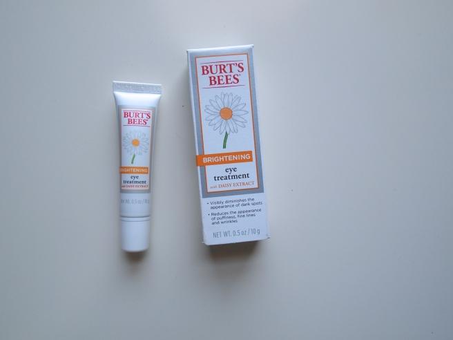 burts bees eye cream