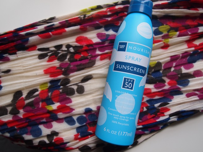 trader joes spray sunscreen