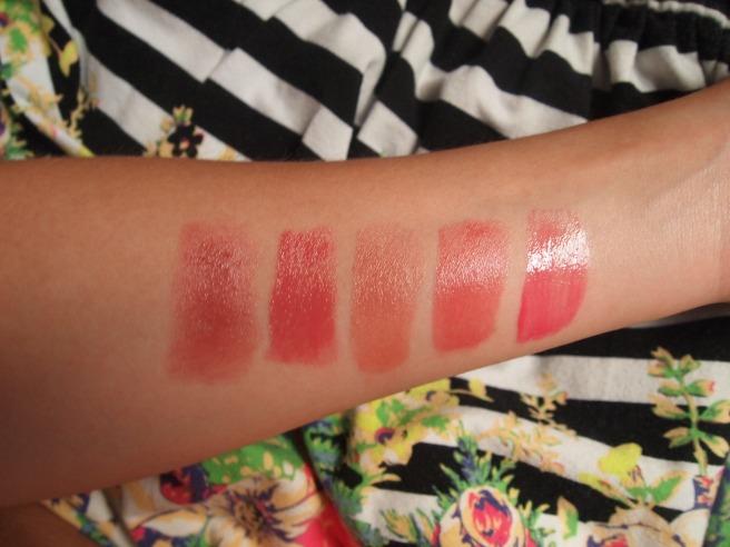 nude lipstick swatch