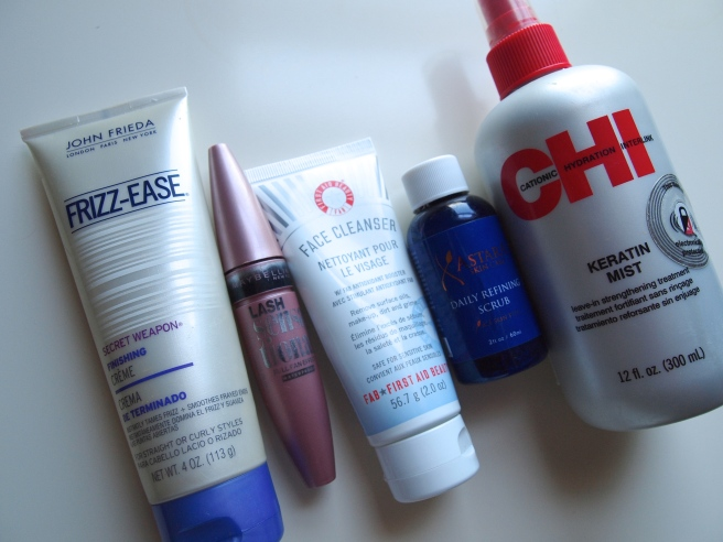 products ive used up