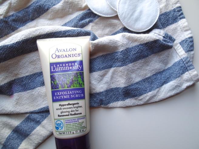 avalon organics enzyme scrub