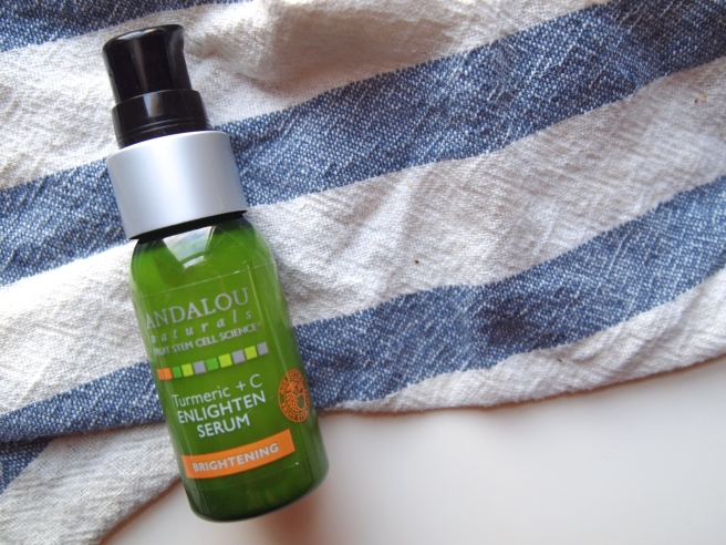 Andalou Naturals enlighten serum