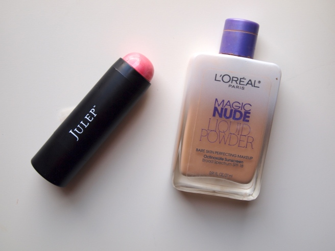 julep skip the brush, loreal magic nude