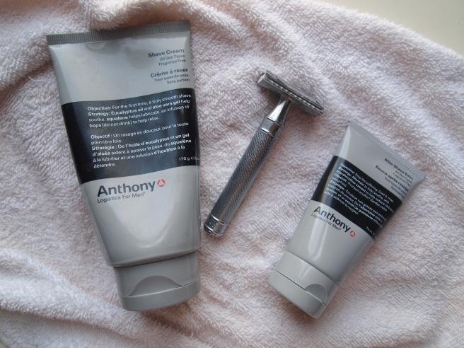 anthony shaving