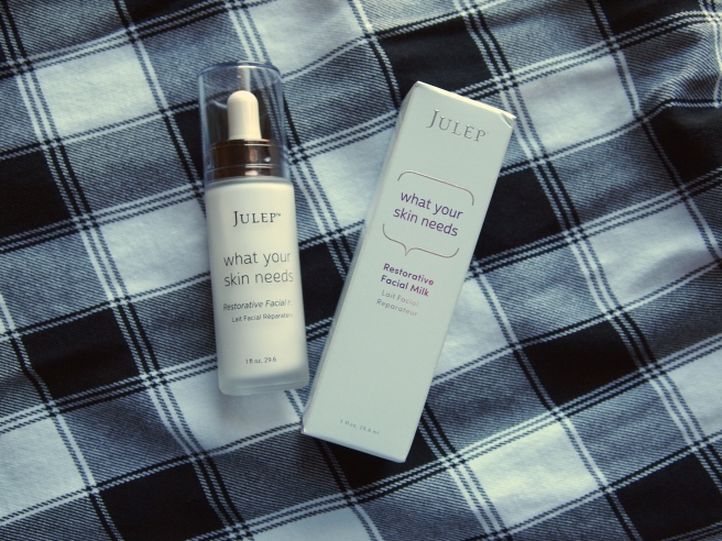 julep restorative facial milk
