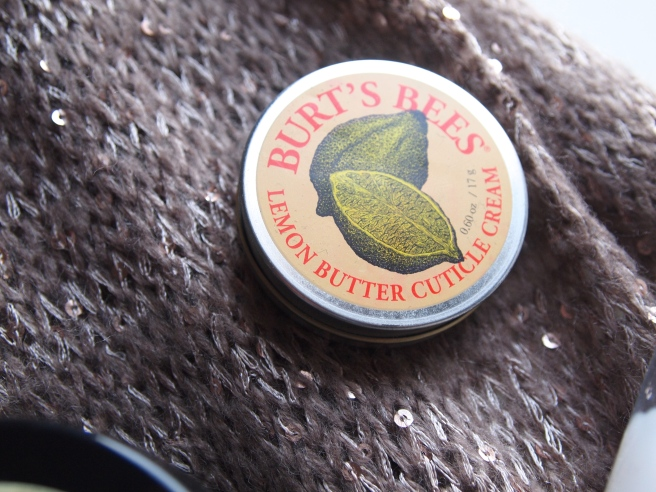 burts bees cuticle butter