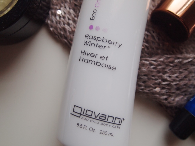 giovanni raspberry lotion