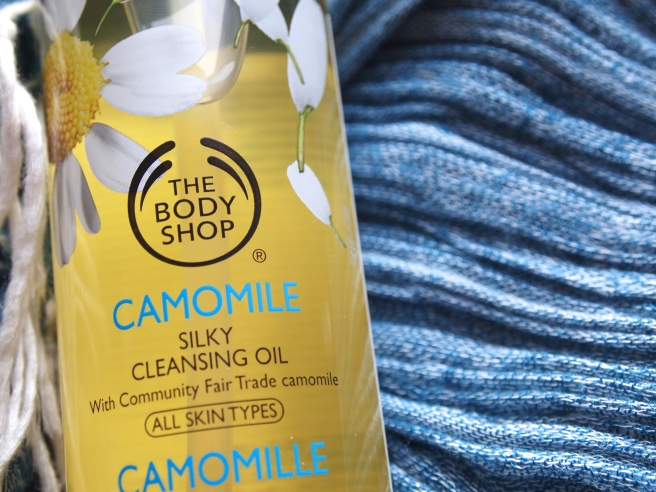 the body shop cleansing oil