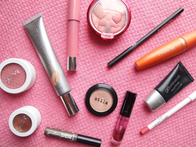 current make up routine