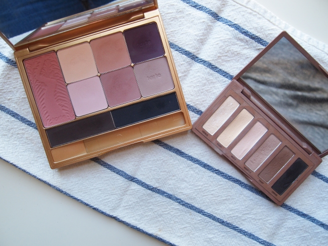 tarte eyeshadow, urban decay naked
