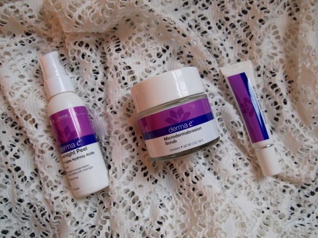 derma e skincare product
